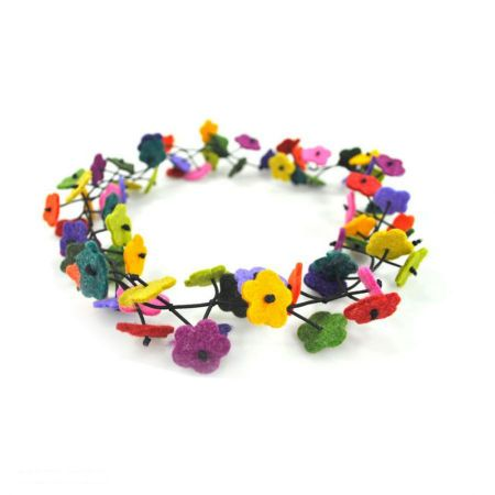 Jeanne Simmons Flower Chain Hatband
