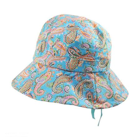 Jeanne Simmons Kids' Paisley Cotton Bucket Hat