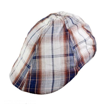 Plaid Duckbill Ivy Cap - Youth