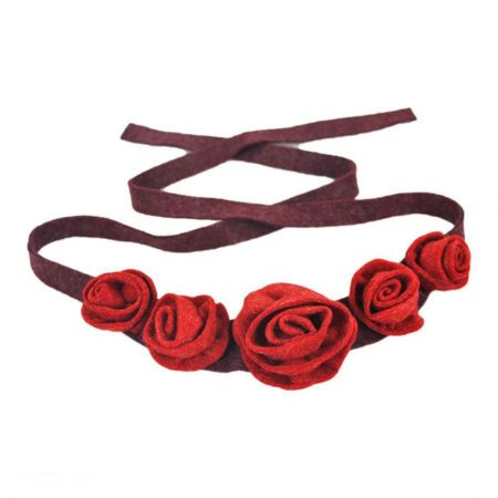 Rose Chain Hatband