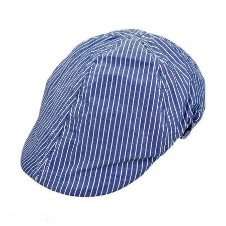 Striped Duckbill Ivy Newsboy Cap - Child