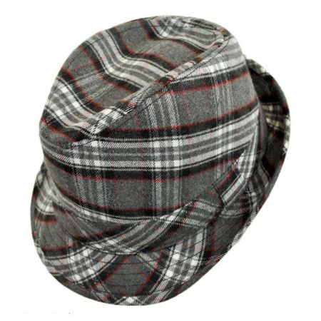 Jeanne Simmons Wyeth Plaid Fedora Hat - Child