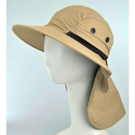 Juniper UV Protection Large Bill Flap Cap