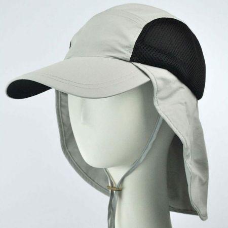 UV Protection Neck Flap Baseball Cap alternate view 1