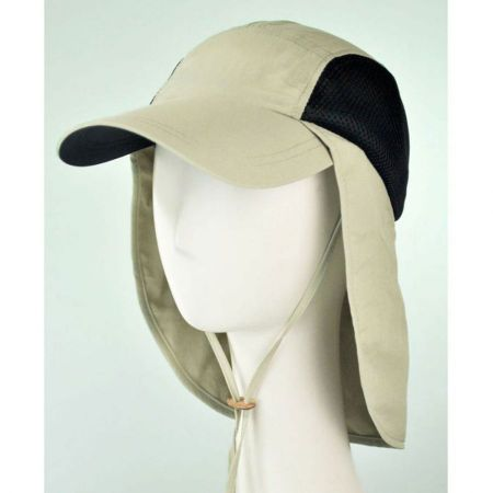 Juniper UV Protection Neck Flap Baseball Cap