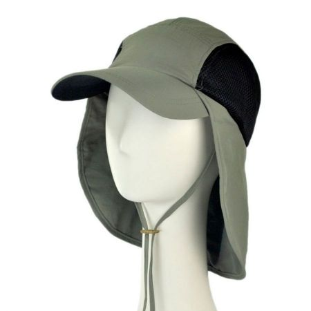 Juniper UV Protection Neck Flap Baseball Cap