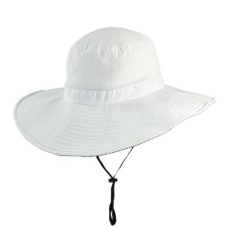 UV Protection Bucket Hat with Chin Cord