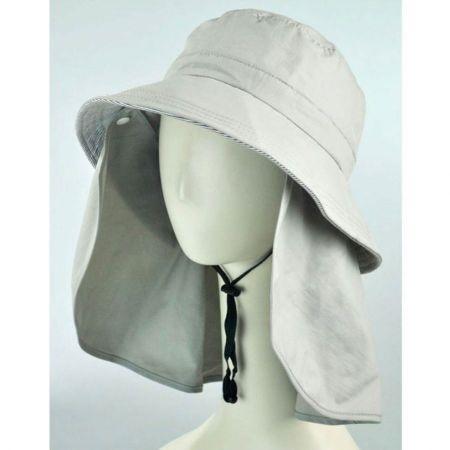 Juniper UV Protection Detachable Flap Bucket Hat
