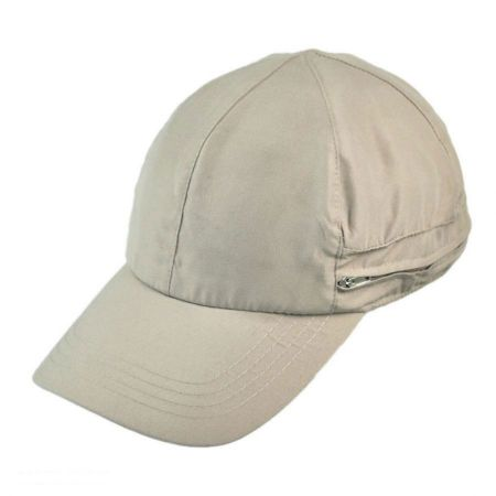 Juniper - Zipper Flap Baseball Cap