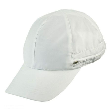 Zipper Flap Baseball Cap