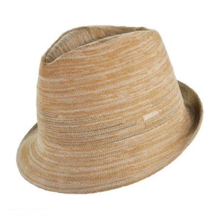 Kangol Angle Stripe Arnold Fabric Fedora Hat