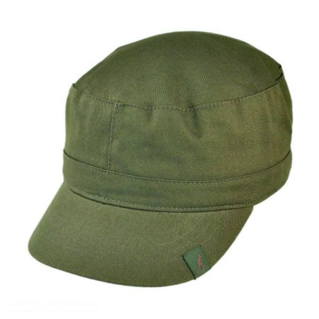 38c202e1a88 Green Kangol at Village Hat Shop