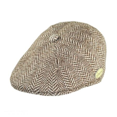 Herringbone Wool Blend 507 Ivy Cap alternate view 7