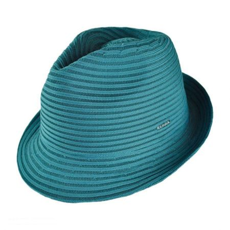 Kangol Spiral Tex Arnold Trilby Fedora Hat
