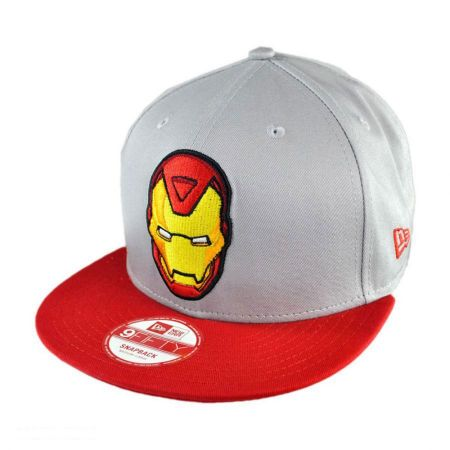 New Era Marvel Comics Iron Man Classic 9FIFTY Snapback Baseball Cap