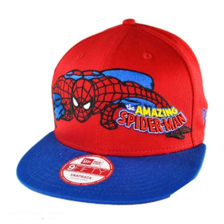 New Era Marvel Comics Spider Man Heroic Stance 9FIFTY Snapback Baseball Cap