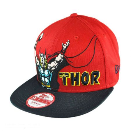 New Era Marvel Comics Thor Heroic Stance 9FIFTY Snapback Baseball Cap