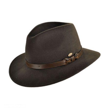 Mayser Hats Aussie Earflap Fedora Hat