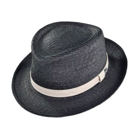 Mayser Hats George Straw Fedora Hat