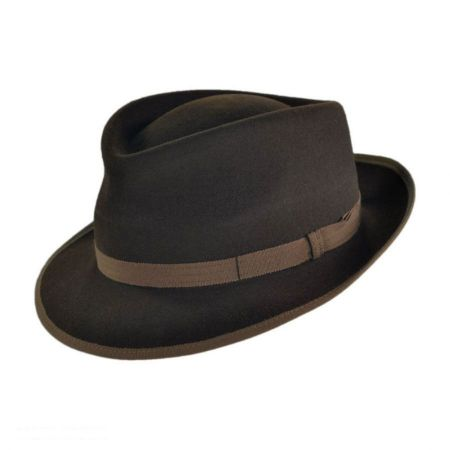 Mayser Hats Jasper Tear Drop Fedora Hat
