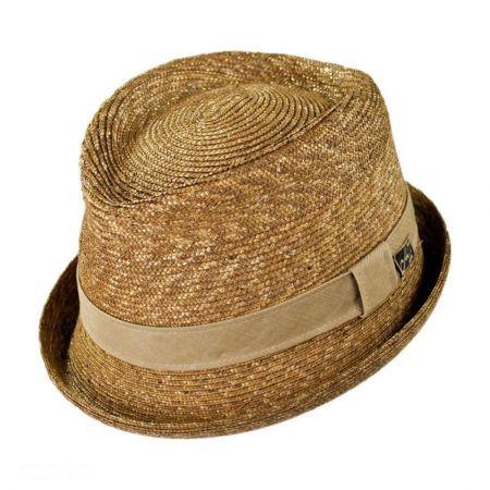 Johnny Straw Fedora Hat alternate view 1