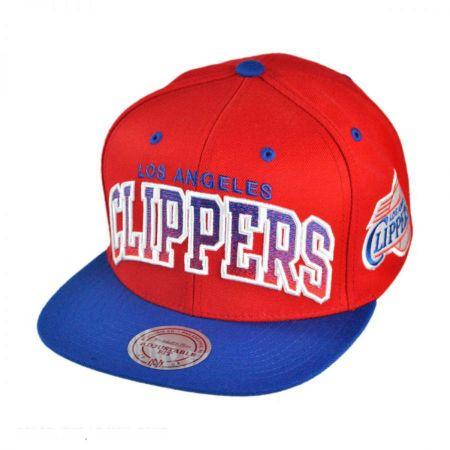 Mitchell & Ness Los Angeles Clippers NBA Gradient Snapback Baseball Cap