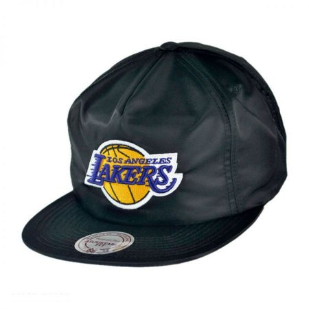Mitchell & Ness Los Angeles Lakers NBA Zipback Baseball Cap