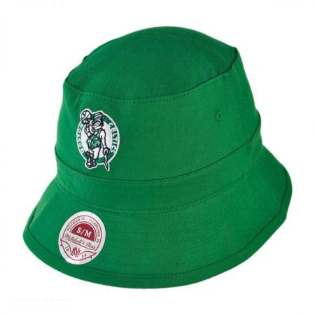 Mitchell & Ness Boston Celtics NBA Logo Bucket Hat