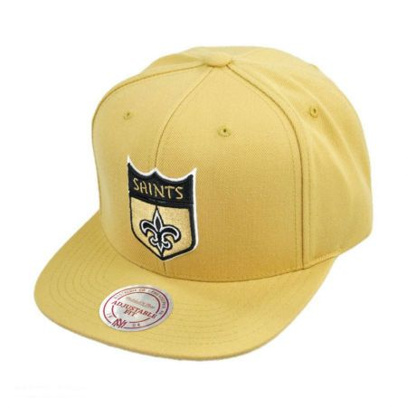 Mitchell & Ness Mitchell & Ness - New Orleans Saints NFL Throwback Fall 2012 Snapback Baseball Cap