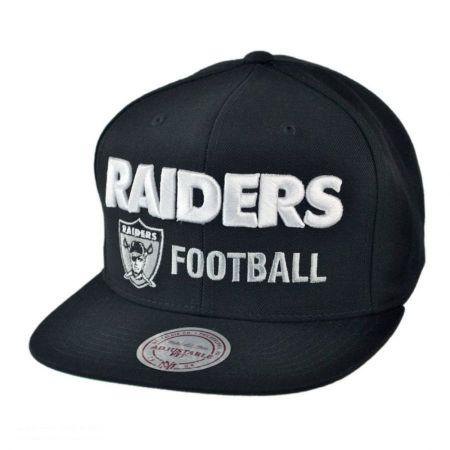 Oakland Raiders NFL Blocker Snapback Baseball Cap
