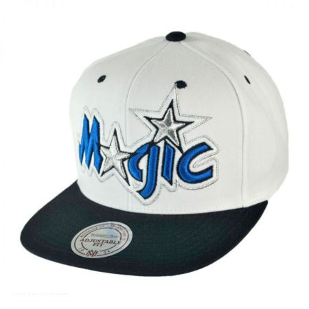 Mitchell & Ness Orlando Magic NBA XL Logo Limited Edition Snapback Baseball Cap