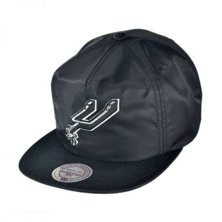 Mitchell & Ness Mitchell & Ness - San Antonio Spurs NBA Zipback Baseball Cap