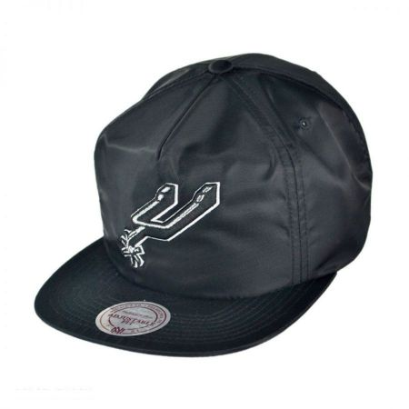Mitchell & Ness San Antonio Spurs NBA Zipback Baseball Cap