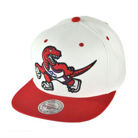 Mitchell & Ness Toronto Raptors NBA XL Logo Limited Edition Snapback Baseball Cap