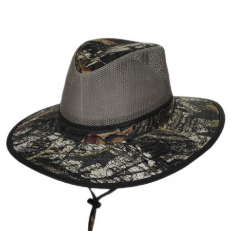 Mossy Oak Break-Up Mesh Cotton Aussie Hat