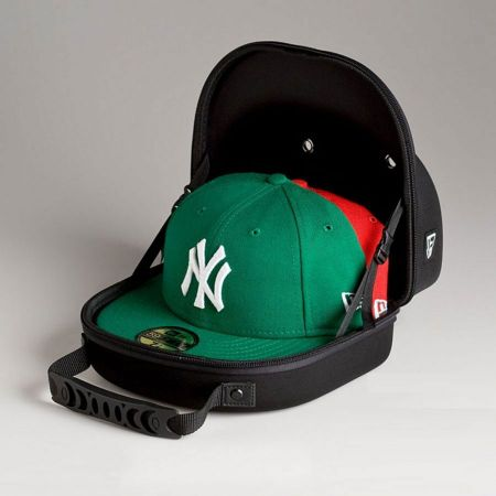 New Era Size: 1 Cap Carrier (Holds 2 Caps)