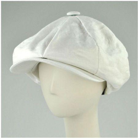 New York Hat & Cap Big Apple Cap-Linen