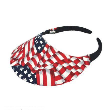USA Flag Midsize Visor