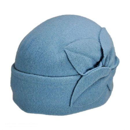 Parkhurst Twist Flower Pull On Beanie Hat