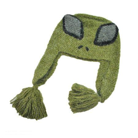 Peruvian Trading Company Alien Beanie Hat