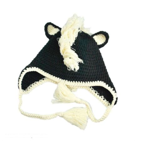 Peruvian Trading Company Baby Skunk Beanie Hat - Infant