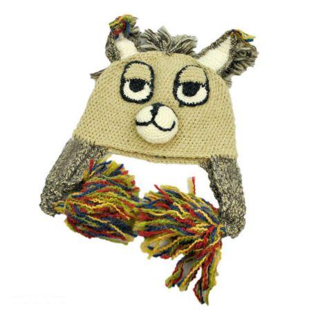 Peruvian Trading Company Boy Llama Beanie Hat