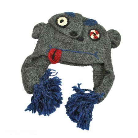 Peruvian Trading Company Brain Crochet Knit Beanie Hat