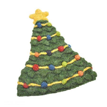 Peruvian Trading Company Christmas Tree Beanie Hat