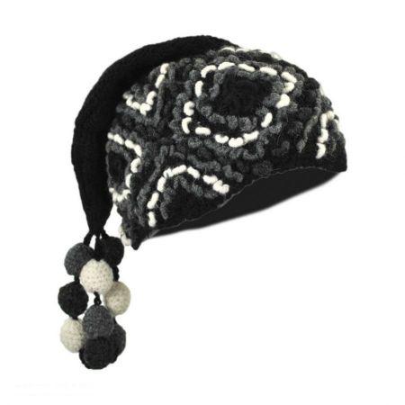 Peruvian Trading Company Popcorn Crochet Knit Beanie Hat