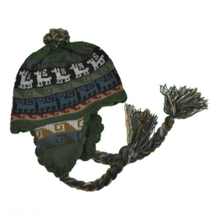 Peruvian Trading Company Tassel Huancavelica Earflap Beanie Hat