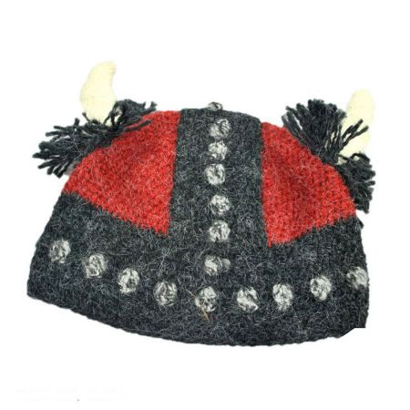Peruvian Trading Company Viking Pull On Beanie Hat