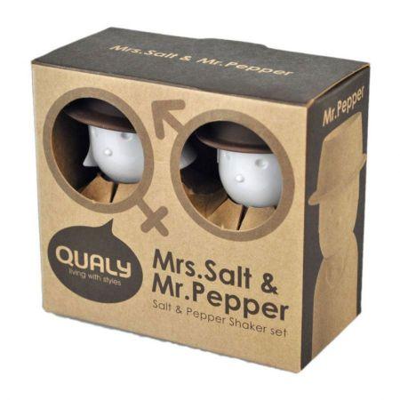 Mrs. Salt and Mr. Pepper Salt and Pepper Shaker Set alternate view 3