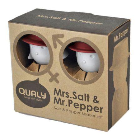 Mrs. Salt and Mr. Pepper Salt and Pepper Shaker Set alternate view 5