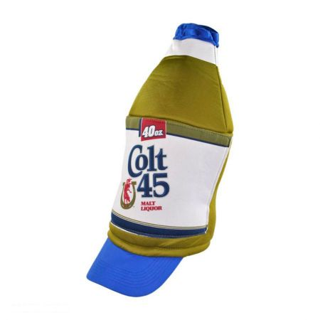 Colt 45 40oz Bottle Hat